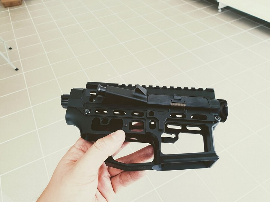 CNC receiver AR15 (Skeletonized) - C | CNC Receiver, CNC gearbox