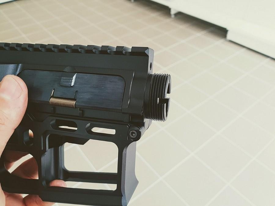 CNC receiver AR15 (Skeletonized) - C   CNC Receiver, CNC gearbox
