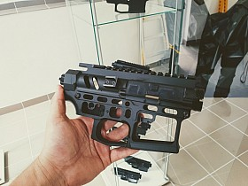 CNC receiver AR15 (Skeletonized) - A
