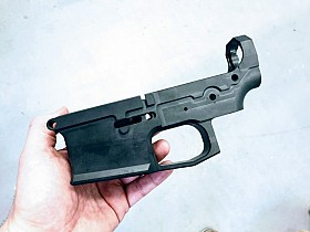 CNC Lower AR15 PA6 30%GF