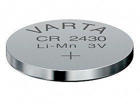 Button Cell VARTA CR 2430, 3V 280mAh