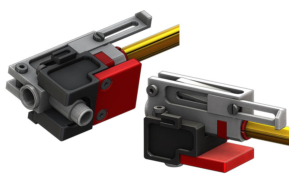 CNC AK Cube   CNC Receiver, CNC gearbox, CNC airsoft upgrade